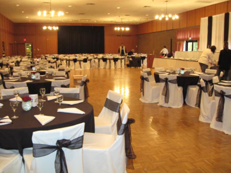 Vancouver wedding reception at Gizeh Centre