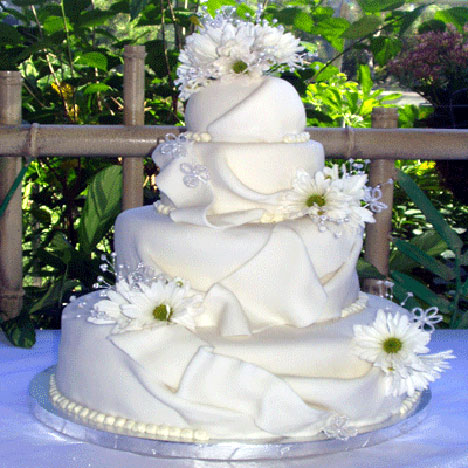 how sweet wedding cake