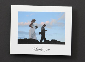 wedding thank-you card