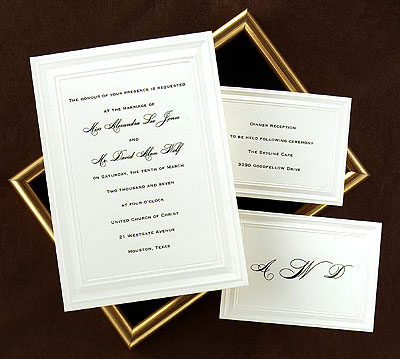 Bride Ca Wedding Invitations 101 Styles Part 1 The