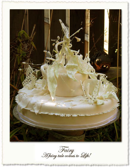 Fairy wedding cake by Helena, in Toronto
