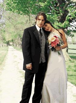 wedding couple - formalwear
