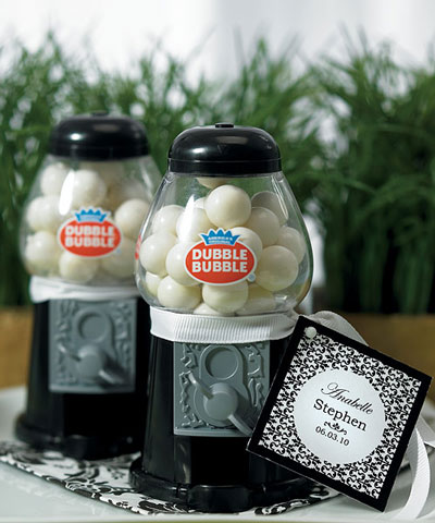 Gumball Machine wedding favour