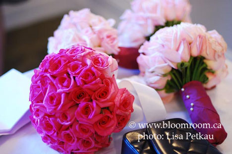 Bouquets by The Bloom Room Vancouver Pink Pink Pink A monochromatic