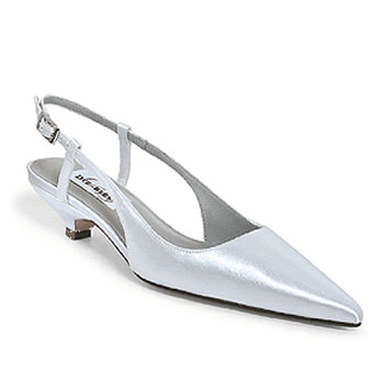Wedding Shoes Ivory Low Heel