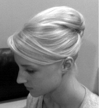 french twist for short hair. French Twist Gallery