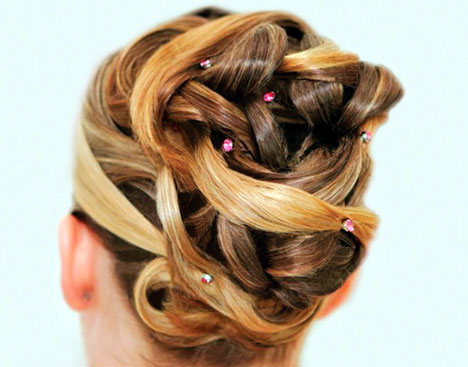 Hair Extensions' impact on your Bridal Hairstyles. The following photos give