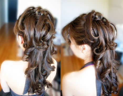 Hairstyle by Michelle Makeup, Vancouver