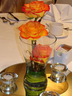vase wedding decorations