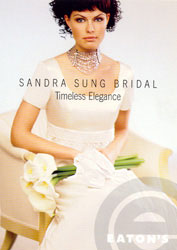 Sandra Sung 2009 Bridal Gown #2009