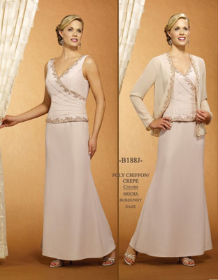 Bella's Brides mother of the bride gown 188