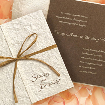 Their wedding invitation gallery is just perfect organised by style