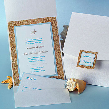 Modern wedding invitation by Creative Expressions in Montreal