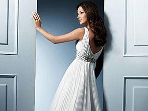 Alfred Angelo backless wedding dress, #755