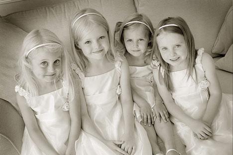Flowergirls: Hyperfocus wedding photo, Vancouver