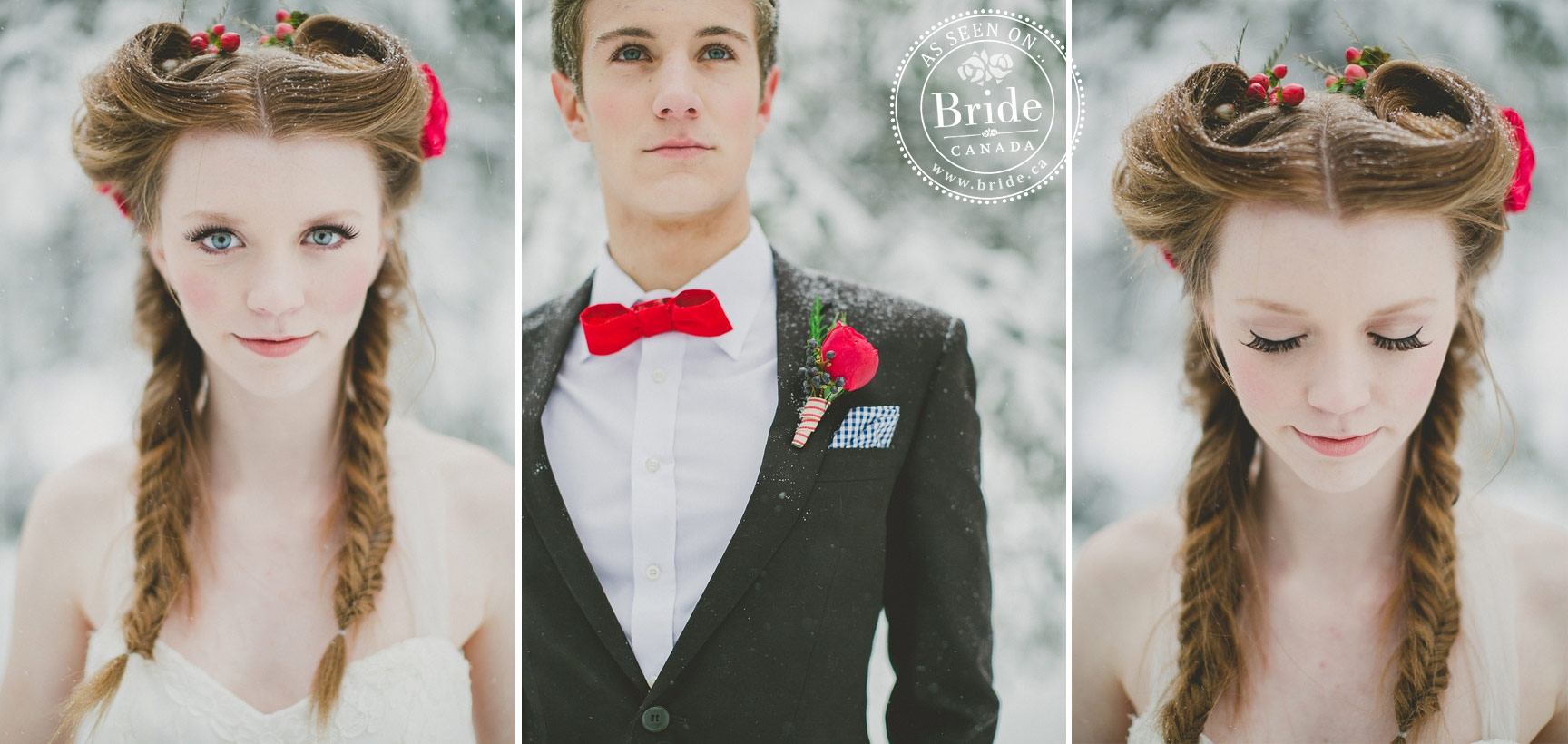 bride.ca | beauty: hair & makeup